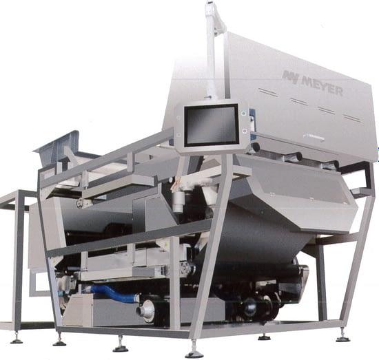 Machine tri optique avec convoyeur vue 4